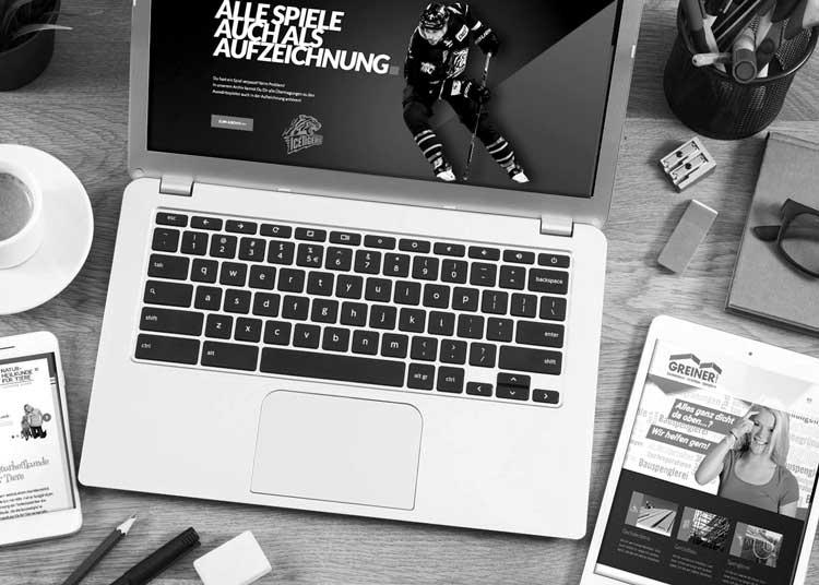 Werbung – Web Design